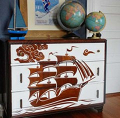 tour du monde,vintage,bureau,bleu,collection